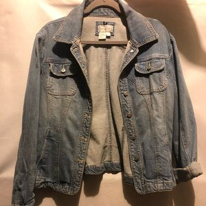 Woman's jean jacket